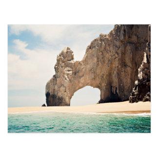 Arco de Cabo San Lucas, México Cartão Postal