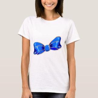 Arco de seda azul camiseta