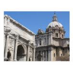 Arco de Titus, Roma -   arquitetura clássica Cartões Postais