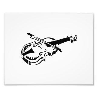 Arco de violino branco amarrado image png do instr impressão de foto