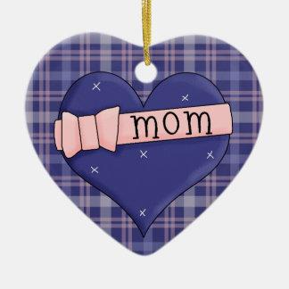 Arco do rosa da mamã do coração da coleção do ornamento de cerâmica coração