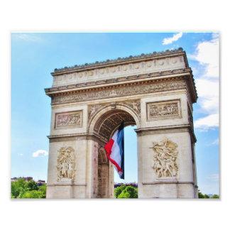 Arco do Triunfo, Paris Impressão De Fotos