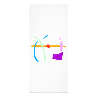 Arco e seta toda sozinhos 10.16 x 22.86cm panfleto