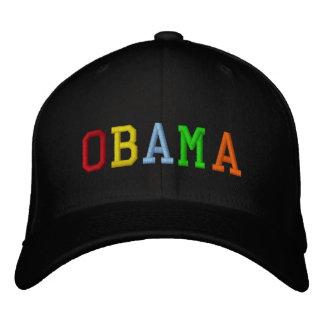 Arco-íris Barack Obama Bone Bordado