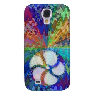 Arco-íris Chakra floral de BlueRay Galaxy S4 Case