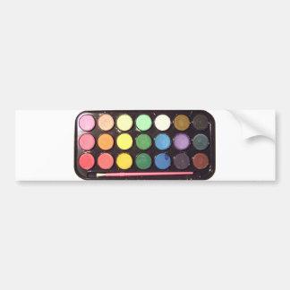 Arco-íris colorido da caixa da pintura adesivo para carro