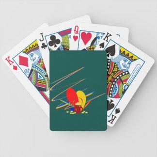 Arco-íris da mágica do ANG do dinheiro do ouro Baralho De Cartas
