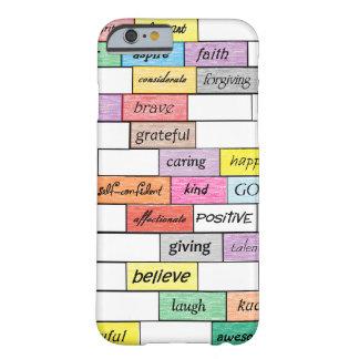 Arco-íris do caso inspirado do iPhone 6 dos Capa Barely There Para iPhone 6