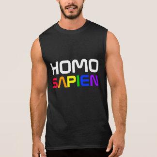 Arco-íris do orgulho gay de Sapien do homo Regata