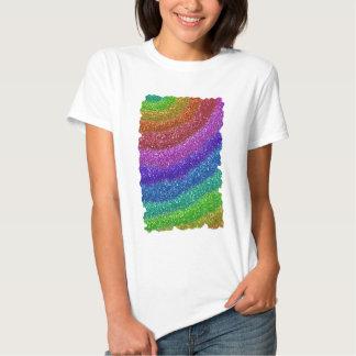 Arco-íris dos brilhos t-shirts