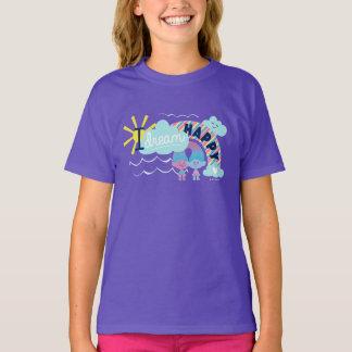 Arco-íris feliz ideal dos troll   I Camiseta