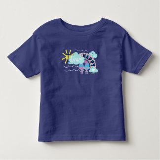 Arco-íris feliz ideal dos troll   I Camiseta Infantil
