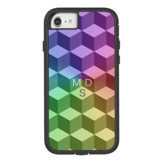 Arco-íris isométrico geométrico capa iPhone 7