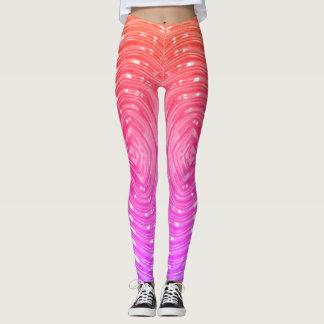 Arco-íris metálico - legging