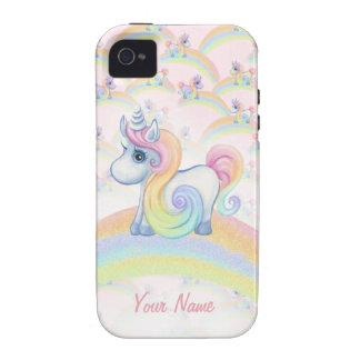 Arco-íris original do Pastel do unicórnio Capinhas iPhone 4/4S