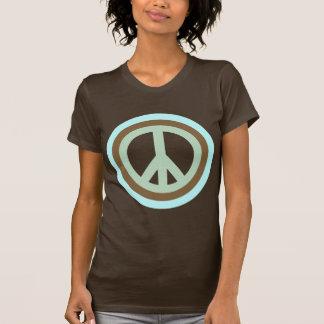 arco-íris peace5 t-shirt