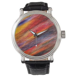 Arco-íris relógio de pulso