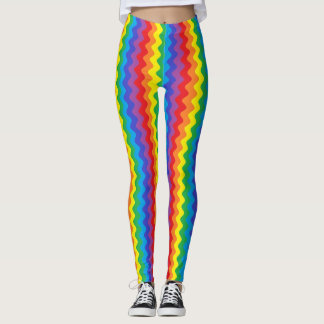 Arco-íris Rickrack Legging