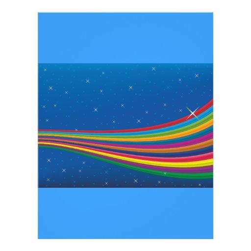 Arco Ris Sky Modelo Panfletos