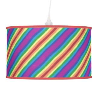 Arco-íris violeta luminária de teto