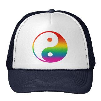 Arco-íris Yin Yang Boné