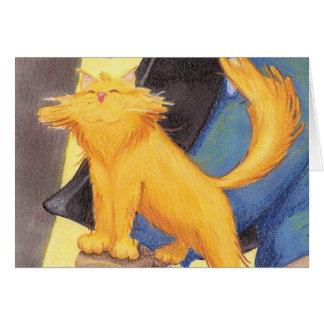 Arco/Notecard da mostra do gato Cartao