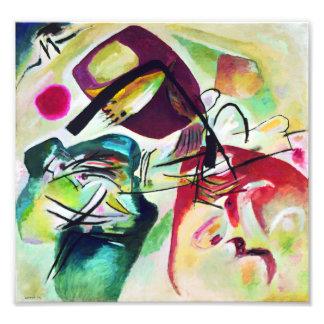 Arco preto de Kandinsky Impressão De Foto