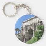 Arco romano do fórum de Titus - Roma, Italia Chaveiros