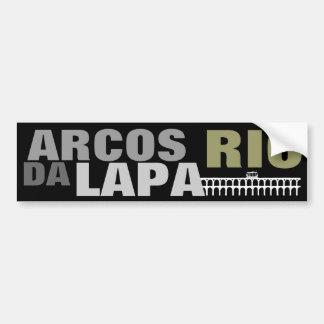 ARCOS A DINAMARCA LAPA - RIO ADESIVO PARA CARRO