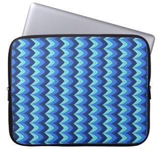 Arcos azuis capas para laptop