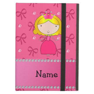 Arcos cor-de-rosa personalizados e diamantes da pr