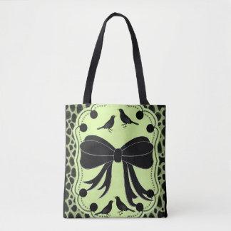 arcos do leopardo da sacola bolsa tote