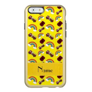 Arcos-íris amarelos conhecidos personalizados dos capa incipio feather® shine para iPhone 6
