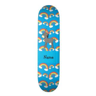 Arcos-íris conhecidos personalizados do azul do as skates personalizados