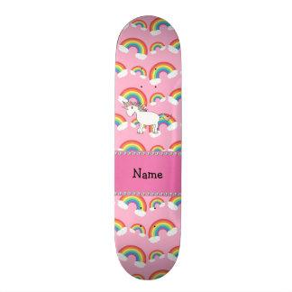 Arcos-íris conhecidos personalizados do rosa do un skate