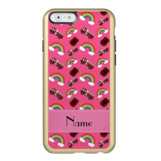 Arcos-íris cor-de-rosa conhecidos personalizados capa incipio feather® shine para iPhone 6