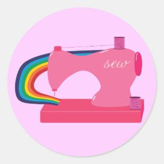 Arcos-íris Sewing Adesivo