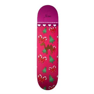 Arcos magentas personalizados dos bastões de doces shape de skate 18,7cm