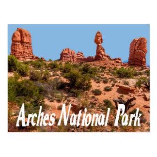 Arcos parque nacional, cartão de Moab Utá