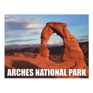 Arcos parque nacional, cartão delicado do arco de
