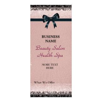 Arcos pretos cor-de-rosa de papel velhos da 10.16 x 22.86cm panfleto