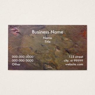 Ardósia Cartão De Visitas