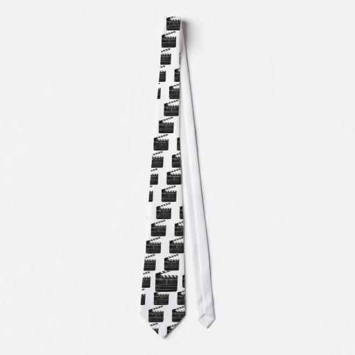 Ardósia do filme do filme da ripa gravata