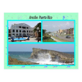 Arecibo Puerto Rico Cartão Postal