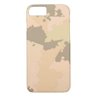 Areia Camo do deserto Capa iPhone 7
