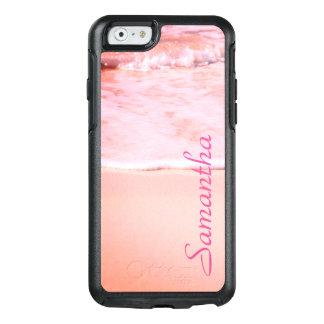 Areia cor-de-rosa personalizada -