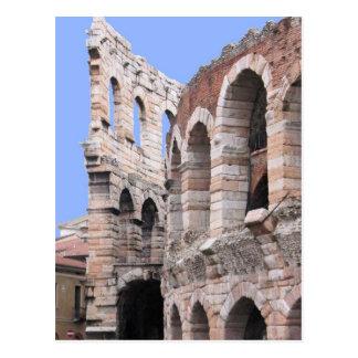 Arena de Verona - cartão de Verona, Italia