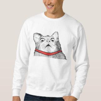 Arfada surpreendida Meme do gato - 2 tomaram Moletom
