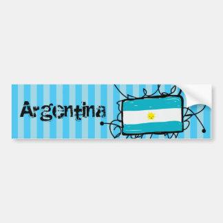 Argentina Adesivo Para Carro