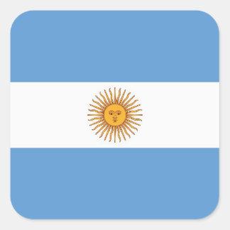 ARGENTINA ADESIVO QUADRADO
